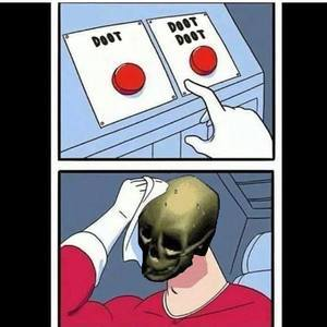 To doot or not to doot that is the question. - meme