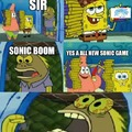 Sonic Boom the games were crap