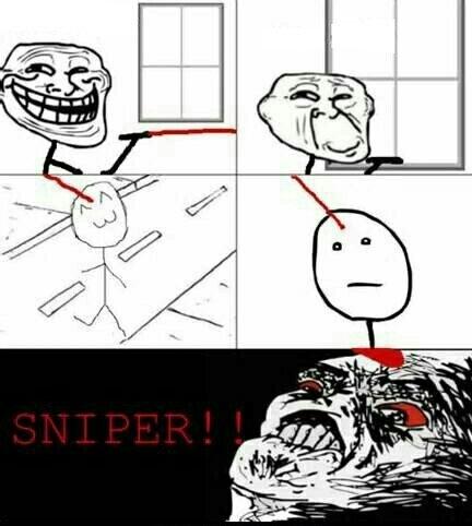 Sniper:raising: - meme