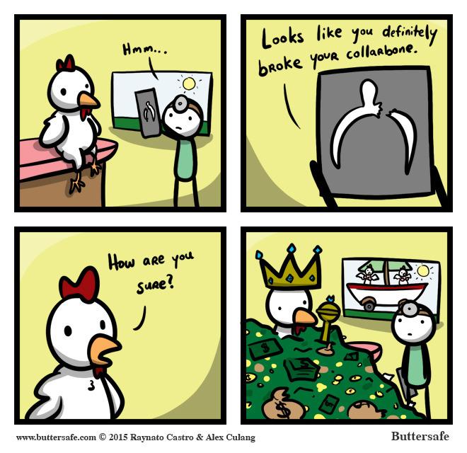 wish on a chicken bone - meme