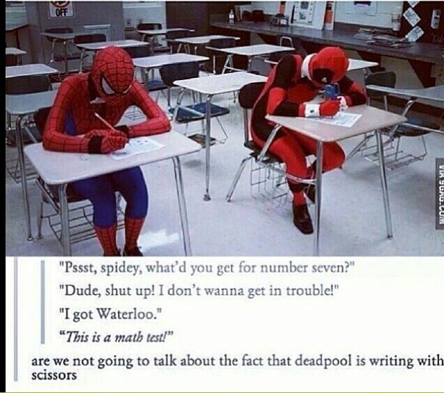 Oh Spidey - meme
