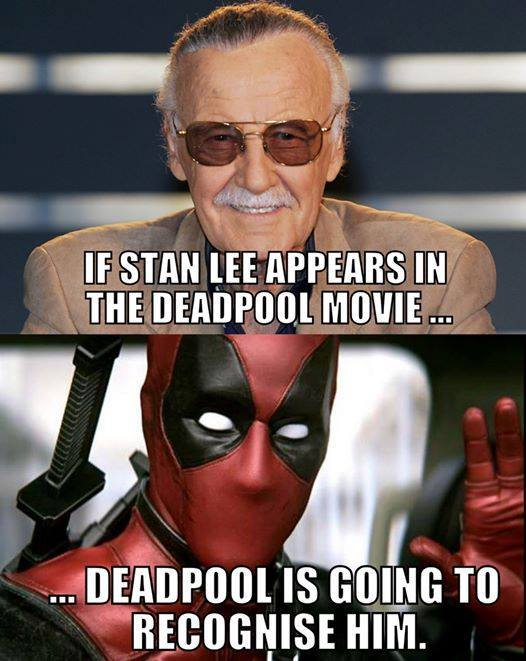 Title loves Deadpool - meme