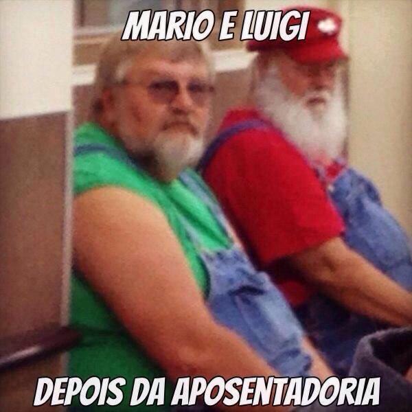 Mario e Luigi - meme