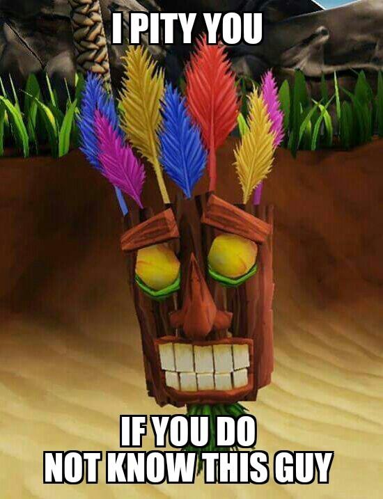 Crash Bandicoot  - meme
