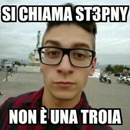 St3pny so che per te è un complimento - meme