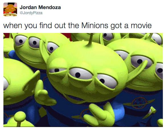 Damn minions - meme