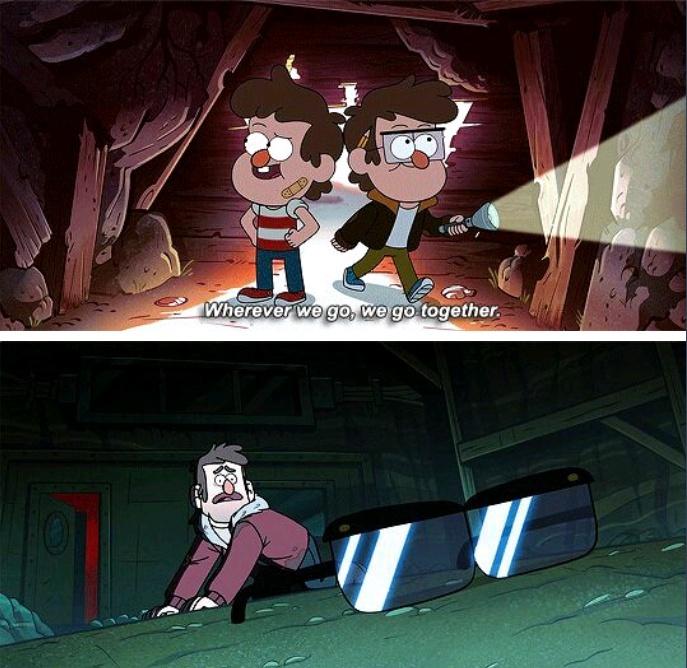 Gravity Falls feels :( - meme
