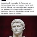 Acho que ele não era romano, era BR
