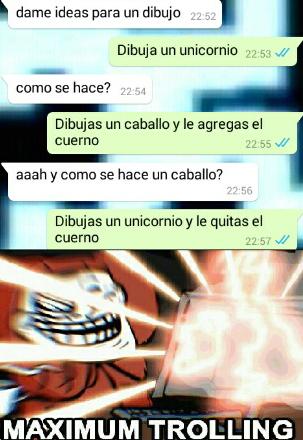 Unicornios - meme