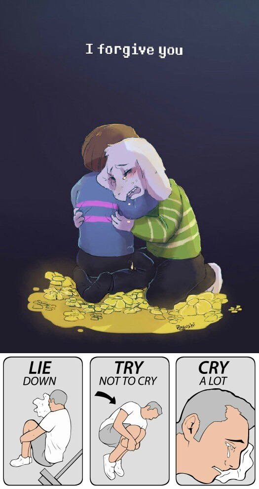 I honestly cried at the end - meme
