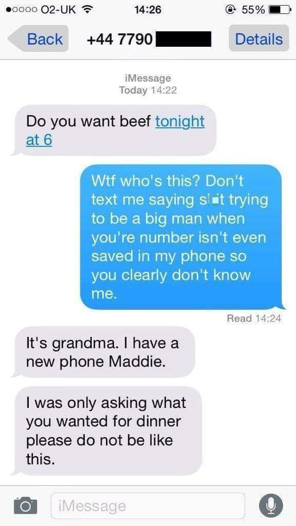 Damn right i want beef ;) - meme