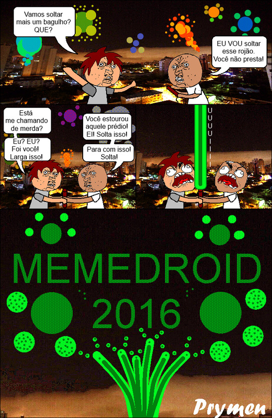 Feliz Ano Novo, Usuários do MMD - meme