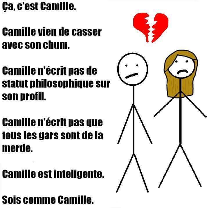 Soyez comme Camille - meme