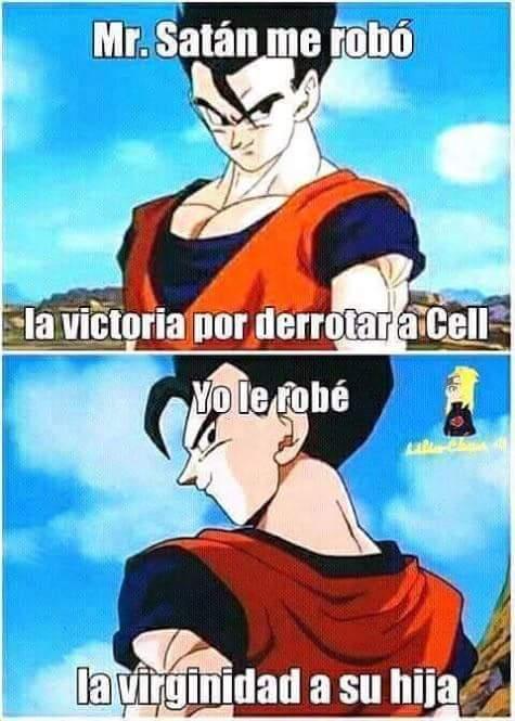 Esta el Gohan(Dragon Ball super)y EL GOHAN!!(Saga Androides, Saga Majin) - meme