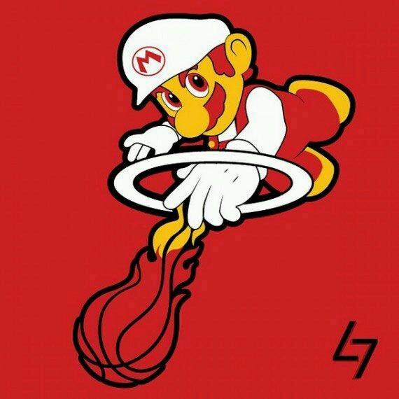 Le Heat de Mario - meme