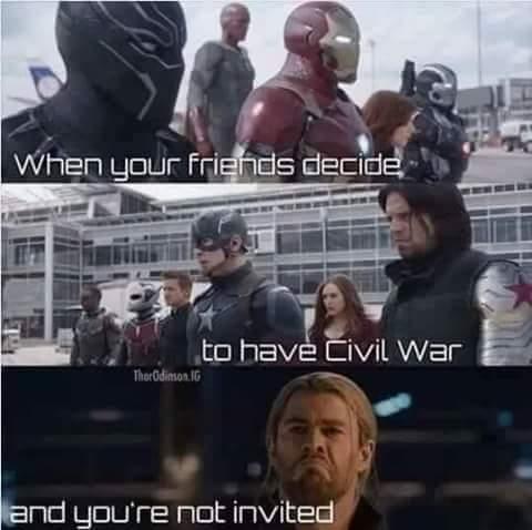 Thor forever alone - meme