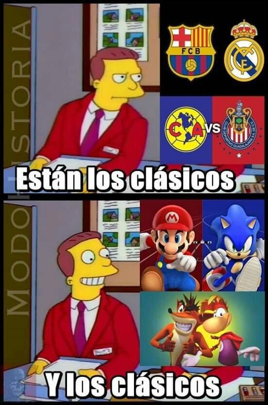 Clásicos - meme