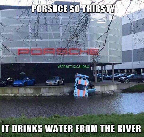 Porsche - meme