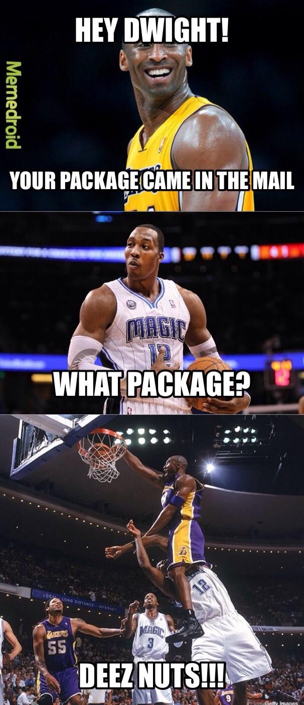 I miss Kobe - meme