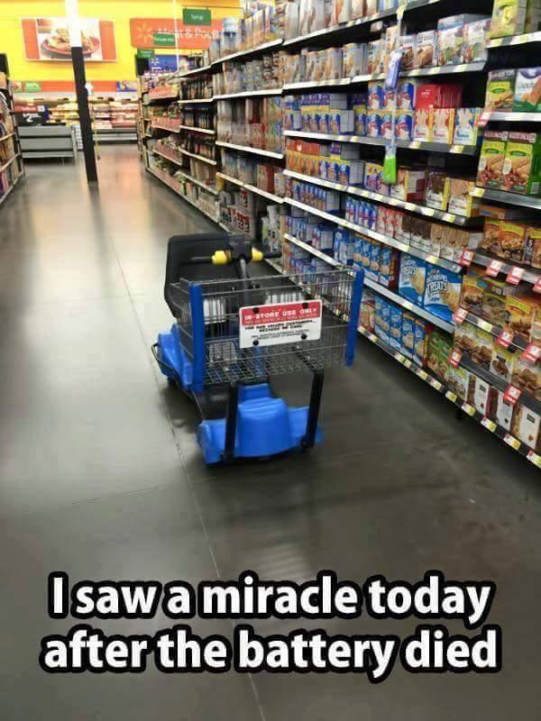 Miracles do happen - meme