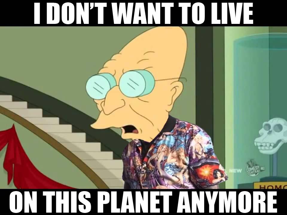 Let's go live on a comet - meme