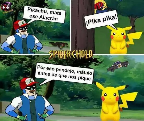 Pikachu es un imbécil - meme