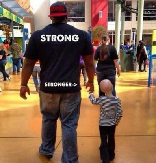 True meaning of being strong - meme