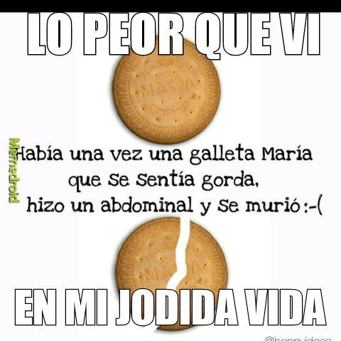Galleta maria - meme
