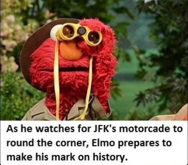 Well damn Elmo. - meme