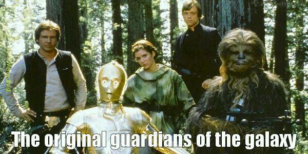 The original guardians of the galaxy - meme