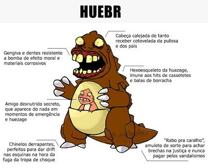 Huezilla - meme