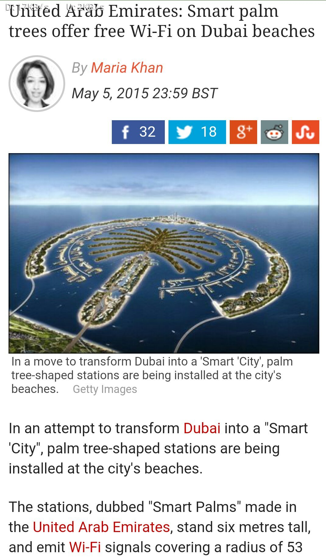 Smart palm in dubai - meme