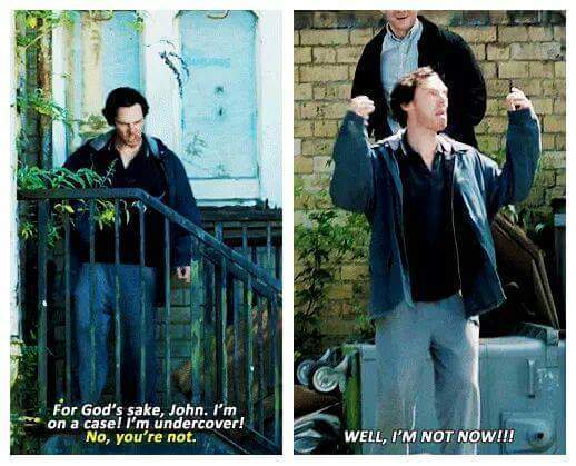 Sherlock actually did have a drug problem - meme