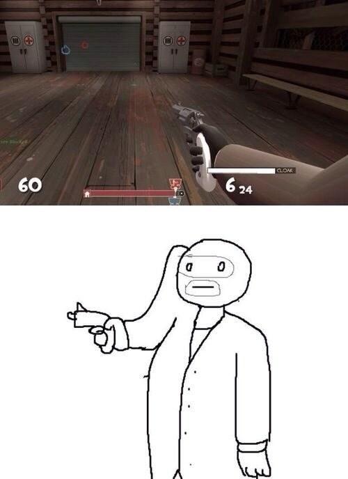 ese usuario es un spy! - meme