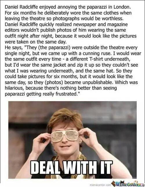 Daniel trolls like a boss - meme