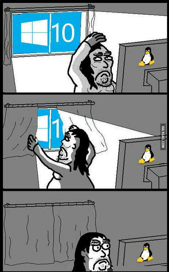 Linux - meme