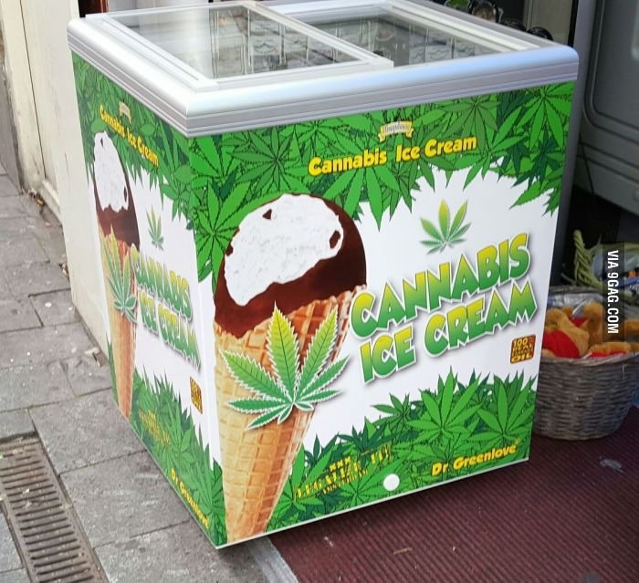 sorvete de maconha - meme