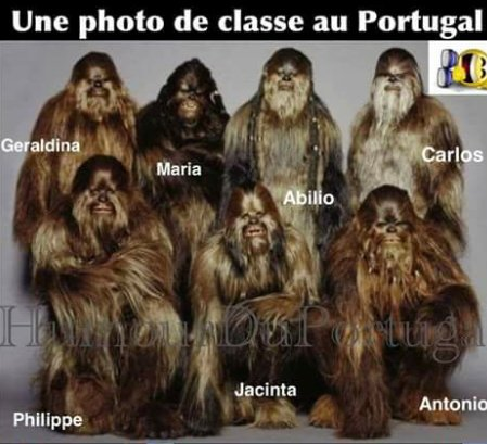 Ah les portugais - meme