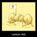 3rd comment gets free lemon aid!