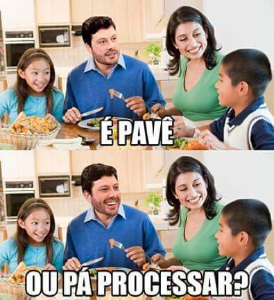 Final de ano com processinho - meme