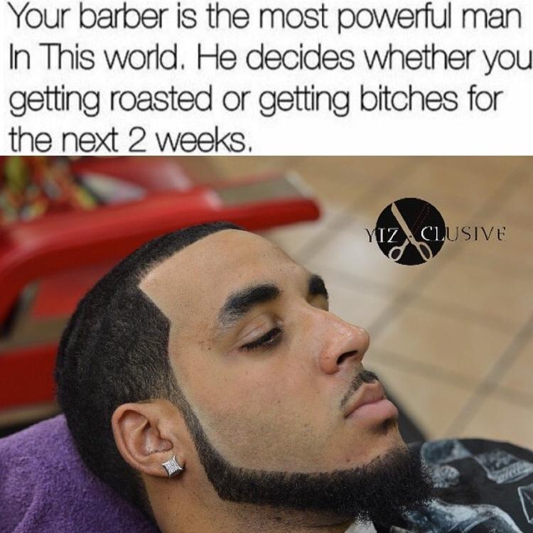 Barber Gods - meme