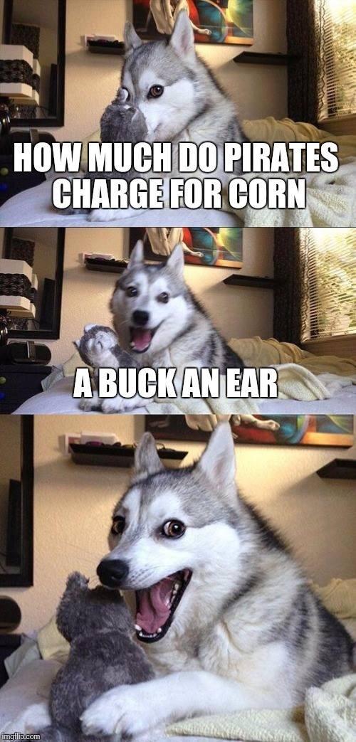 aaarrrggghhhh! come and buy me corn ya land lovers! - meme