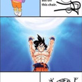 Go goku take my energy...