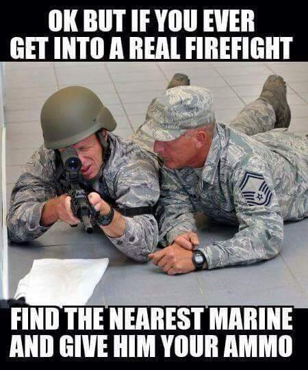 Every Marine is a rifleman - meme