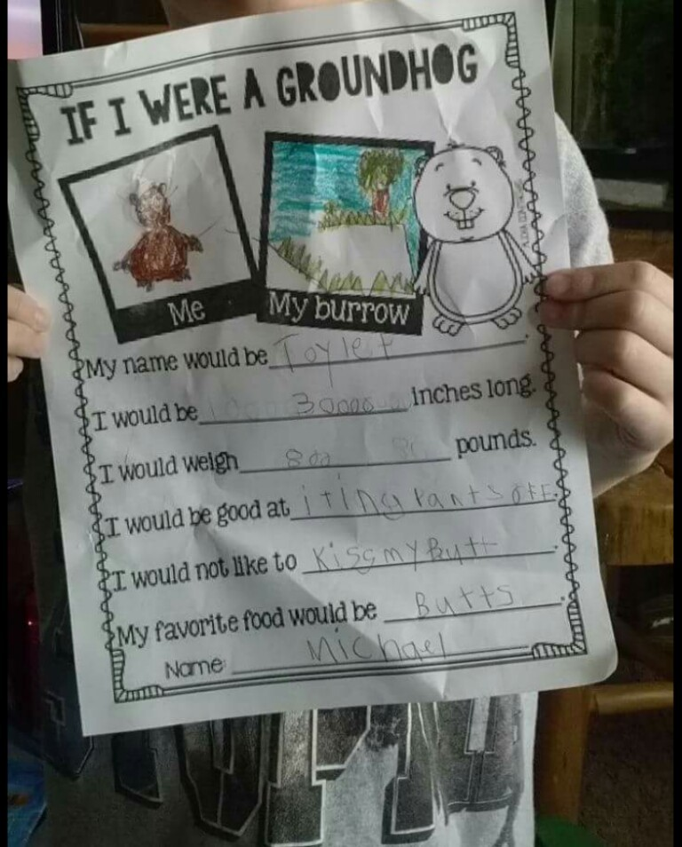 So my little cousin brought this home from school today... - meme