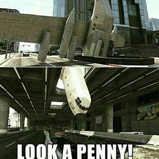 Oh. A Penny! - meme