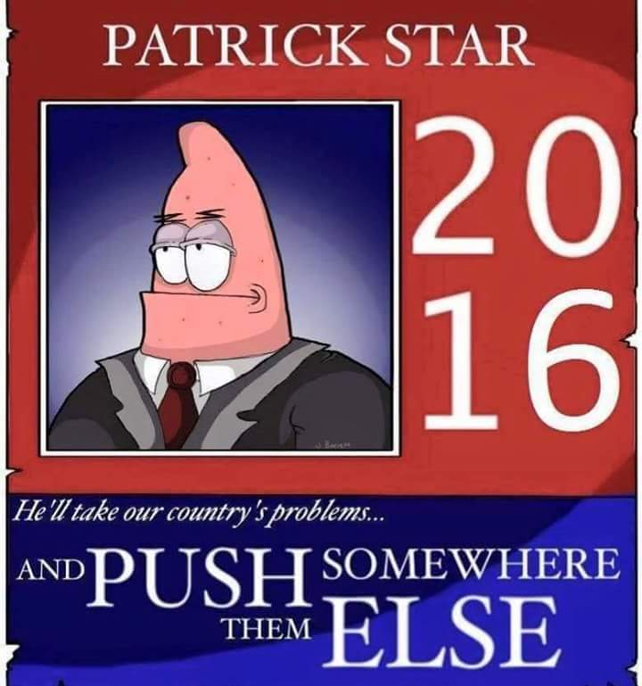 He has my vote - meme