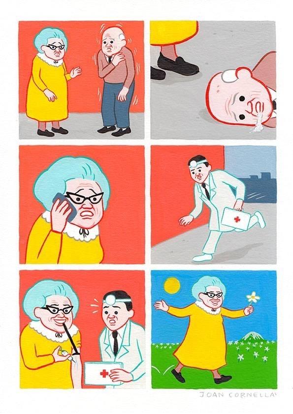 mi abuela maldita se quedó con la herencia de mi abuelo - meme