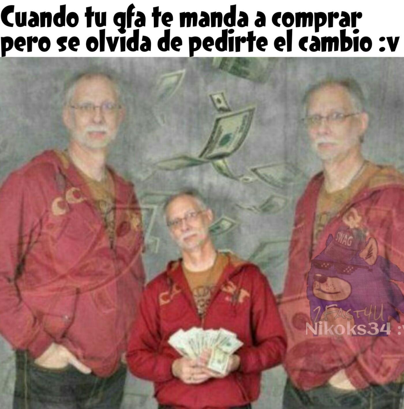 Zoi millonario :v - meme