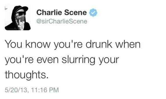 Tweets by Charlie Scene - meme